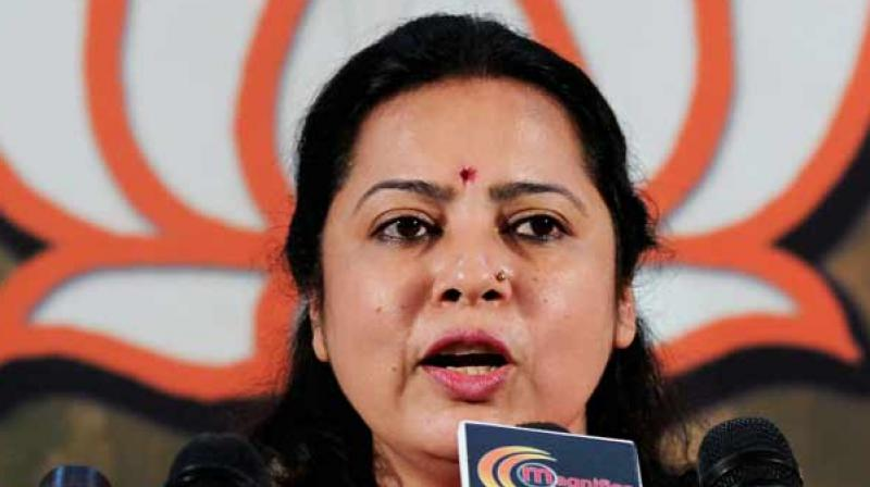 'I think the Delhi government's priorities are misplaced,' Lekhi said. (Photo: File)