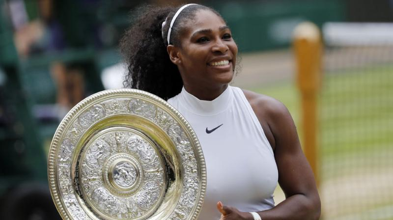 Serena Williams tamed Angelique Kerber 7-5, 6-3 to claim a record-equalling 22nd Grand Slam title.