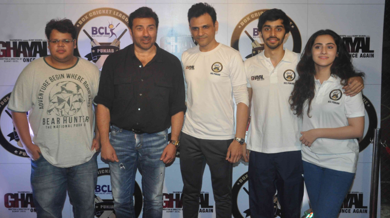 Still of the team 'Ghayal Once Again' at BCL.