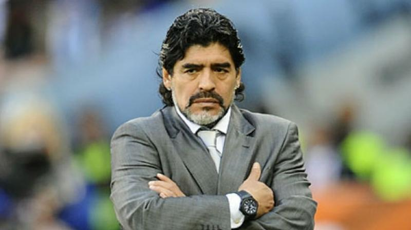Maradona, one of the greatest players to grace the game up until he was banned from playing due to failing a doping test in 1994, did not have very kind words. (Photo: File)