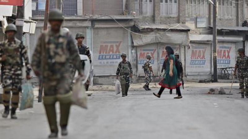 Three policemen were killed and another critically injured in a militant attack in Zainapora area of Jammu and Kashmir's southern Shopian district on Tuesday. (Representational Image | PTI)