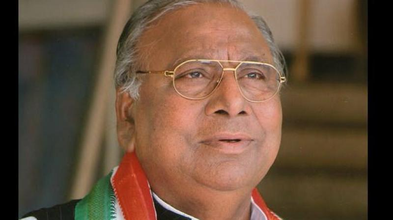 Senior Congress leader, MP V. Hanumantha Rao