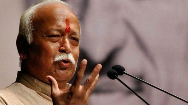 RSS leader Mohan Bhagwat (Photo: PTI)