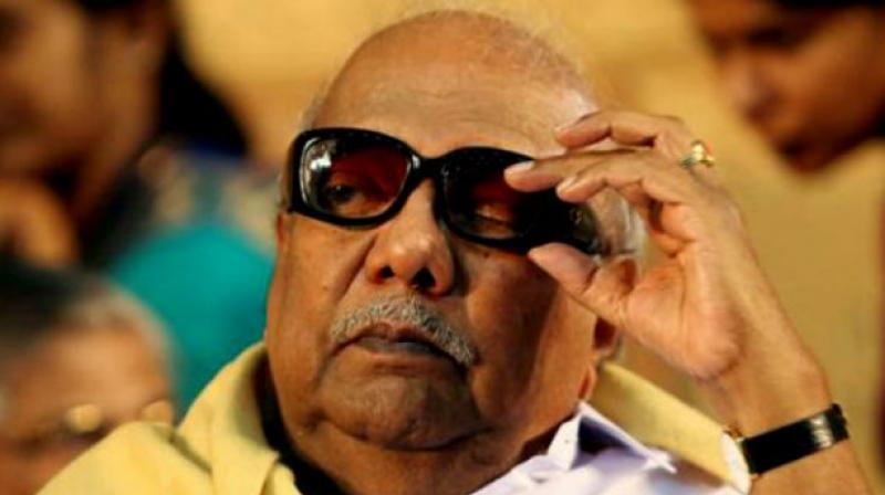 DMK chief M Karunanidhi. (Photo: File)