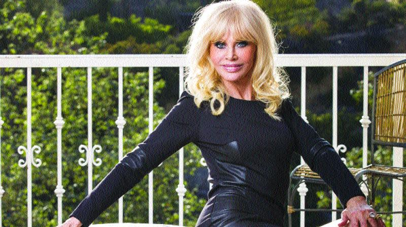 Ex bond girl Britt Ekland  confessed she hasn't had a physical  relationship for about 20 years