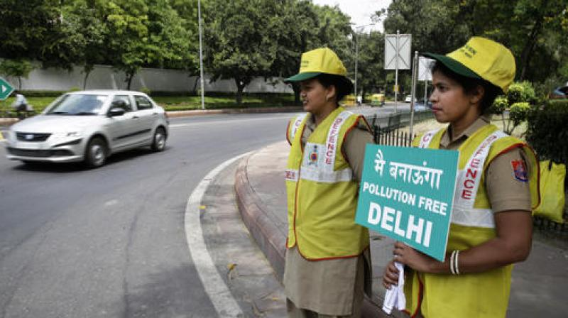 The government will review success of the second phase of the odd-even before taking any decision on implementing odd-even every month for 15 days, says Transport Minister Gopal Rai. (Photo: PTI)