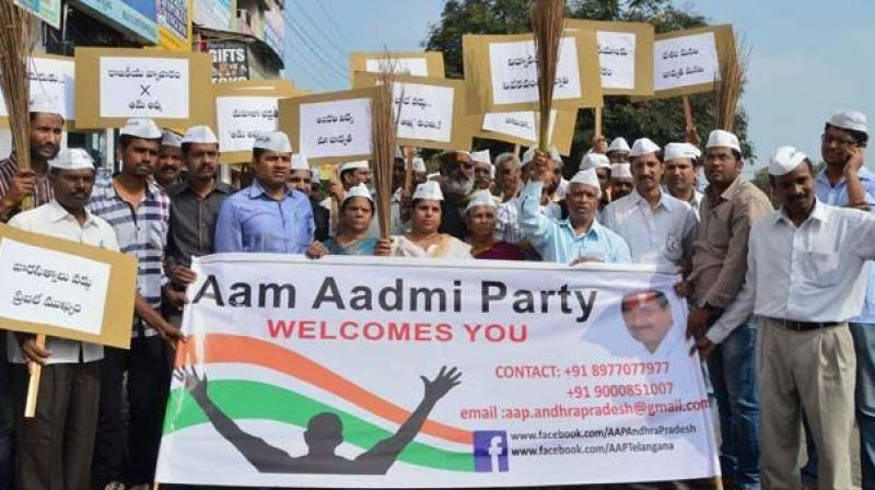 The party is currently working in the state and the decision to fight the polls would be taken only after assessing the ground level situation, says AAP leader. (Photo: PTI)