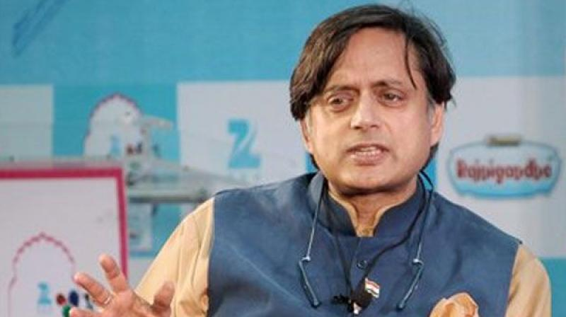 Senior Congress leader and Former Union Minister Shashi Tharoor. (Photo: PTI)