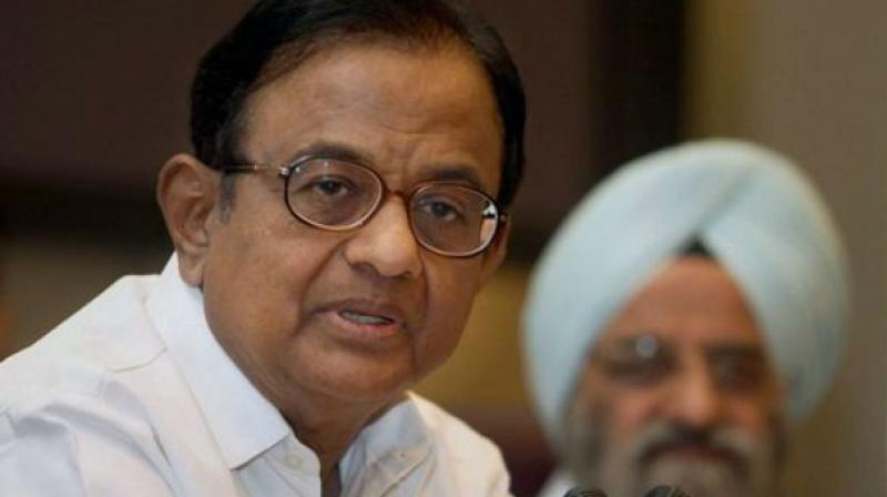 The high court had reserved the order on November 8 on the bail petition after hearing the arguments of counsel for Chidambaram and the Enforcement Directorate (ED).  (Photo: PTI)