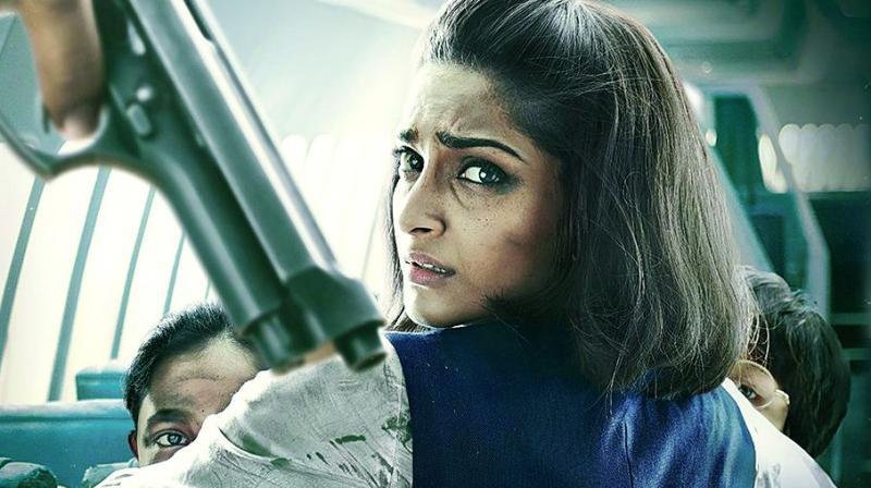A still from the movie Neerja
