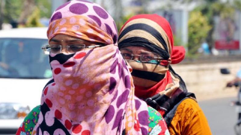 The highest maximum temperature of 45 degrees Celsius was recorded at Ramagundam. (Photo: Representational Image)