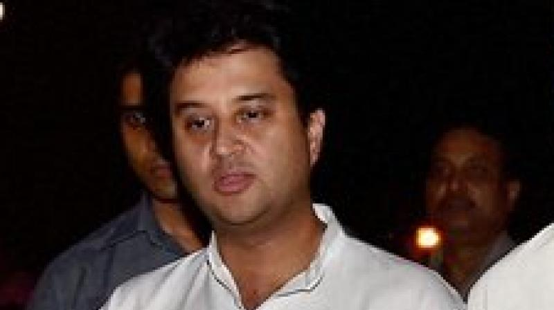 Earlier today, Scindia had announced his resignation from the post of party general secretary. (Photo: PTI)