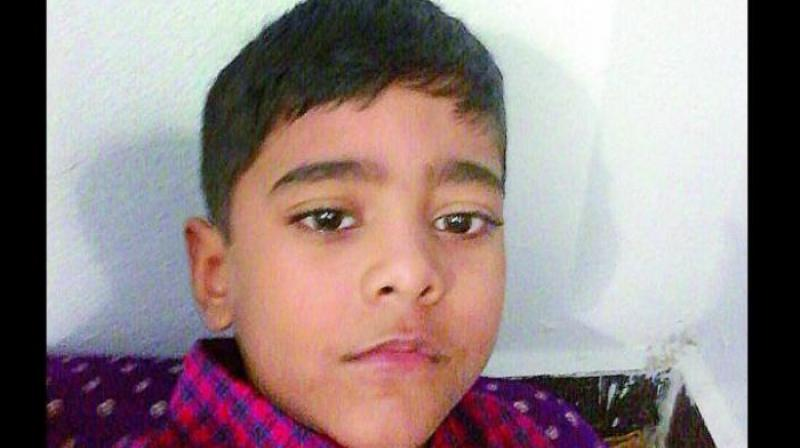 6-year-old Mohammad Ibrahim (Photo: DC/file)