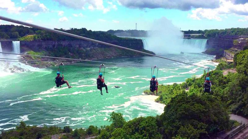 The zipline debuted on July 15 and later this week on July 20, it will celebrate its grand public opening.
