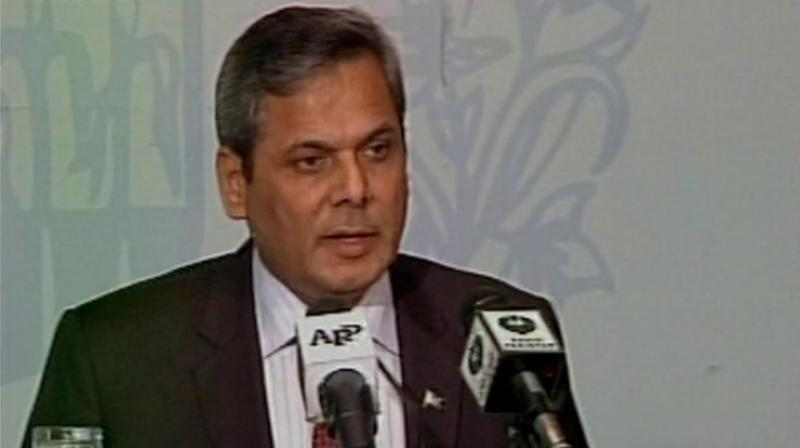 Pakistan Ministry of Foreign Affairs spokesperson Mohammed Nafees Zakaria. (Photo: Twitter/ANI)