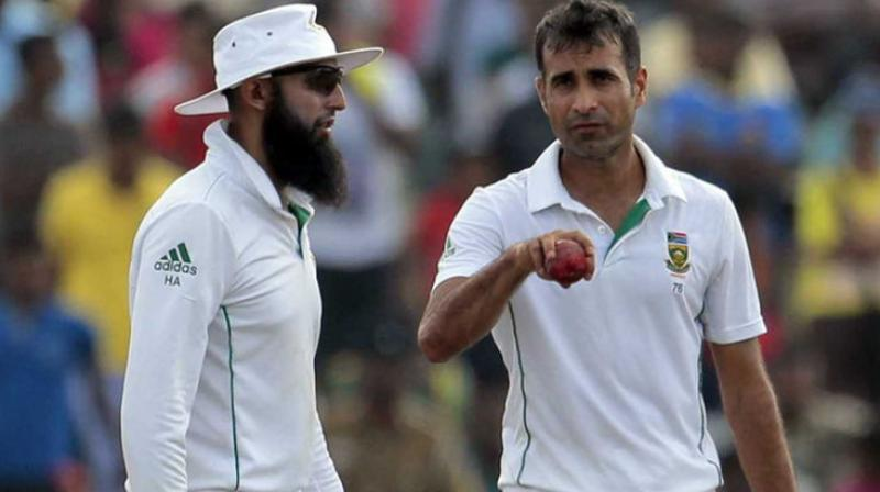 South Africa cricketers Hashim Amla, Imran Tahir will not flaunt beer logo on jersey during the month of Ramadan. (Photo: AP)