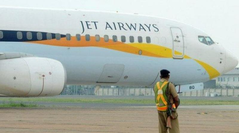 Four entities -- Etihad Airways, TPG Capital, Indigo Partners and National Investment and Infrastructure Fund (NIIF) -- are learnt to have shown interest in picking up stake in Jet Airways. (Photo: File)