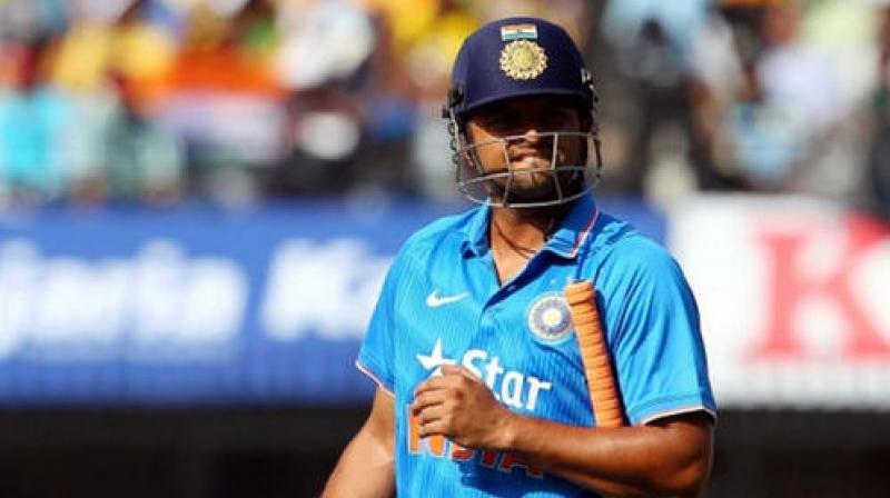 Team India cricketer Suresh Raina was also finding it difficult to cope up in the Sports Hostel in Lucknow. It was during this period that suicidal thoughts crossed his mind. (Photo: BCCI)