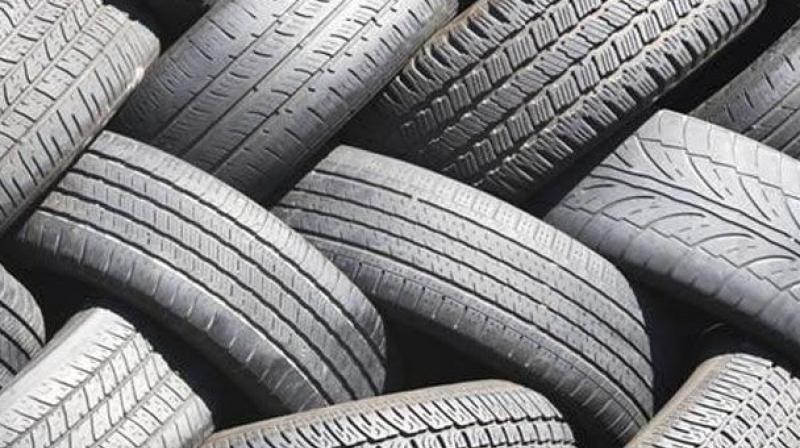 Used tyres were burnt to extract oil in Sangareddy