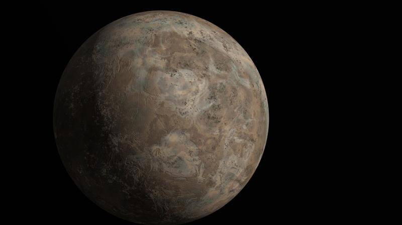 The findings were obtained with a computer model of the planet's ancient climate.
