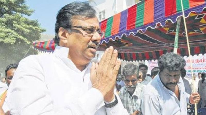 Tamil Nadu Congress Committee President E V K S Elangovan. (Photo: PTI)