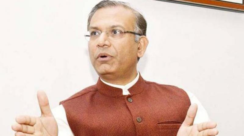 Jayant Sinha's remarks come in the backdrop of the setback the ruling BJP suffered in Assembly elections in three Hindi heartland states recently. (Photo: File   PTI)