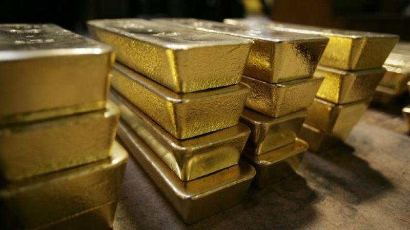 India:Gold prices fall to Rs 29,325 per 10 gm in futures trade
