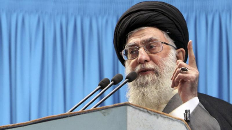 'The enemies have united and are using all their means, money, weapons, policies and security services to create problems for the Islamic regime,' the supreme leader, Khameini said. (Photo: File)
