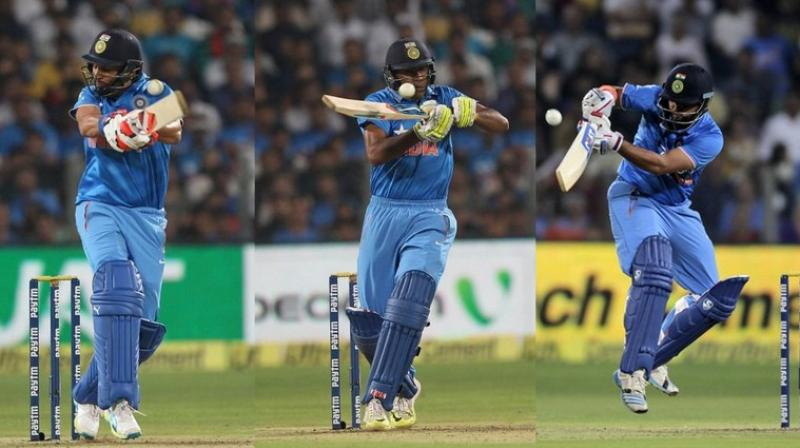 India lost the first T20 against Sri Lanka in Pune on Tuesday. (Photos: BCCI/ AP)