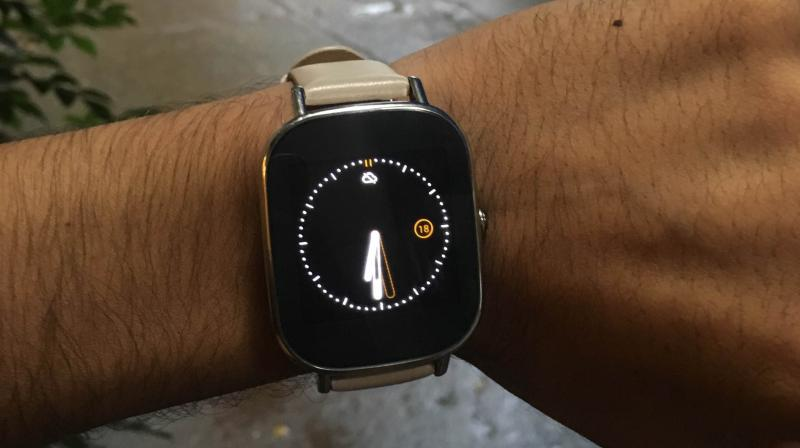 ASUS ZenWatch 2 with enhanced Android Wear experience