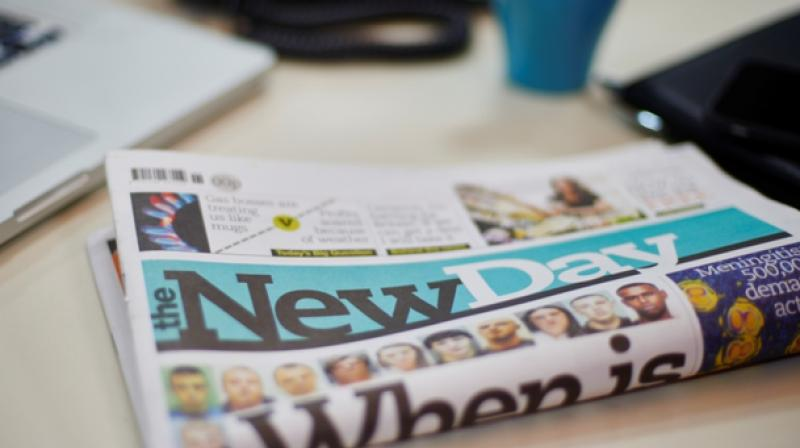 The large surface area of newspapers provided an unlikely but ideal way to chemically grow carbon nanotubes (Photo: AFP)