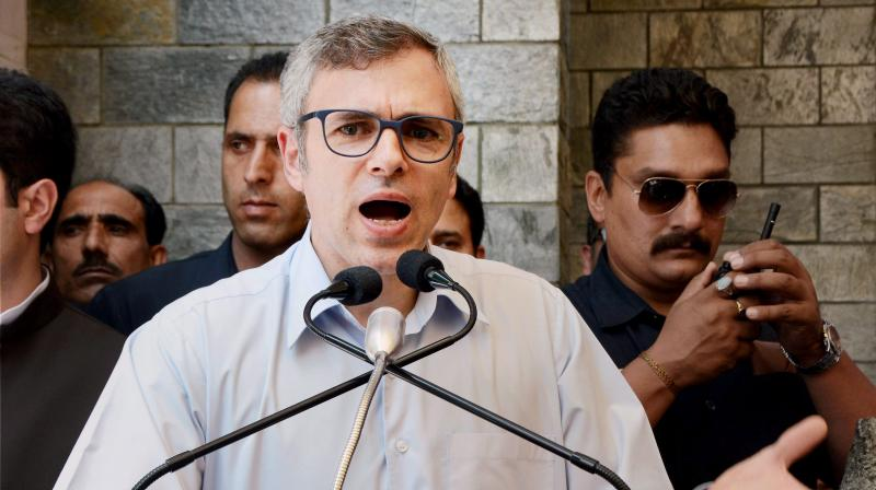 Former Jammu and Kashmir Chief Minister and National Conference working President Omar Abdullah. (Photo: PTI)