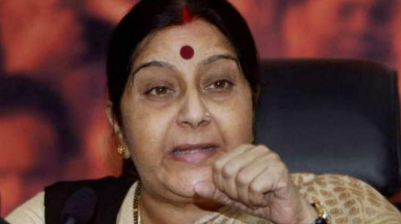 Sushma Swaraj condemned the attacks. (Photo: PTI)