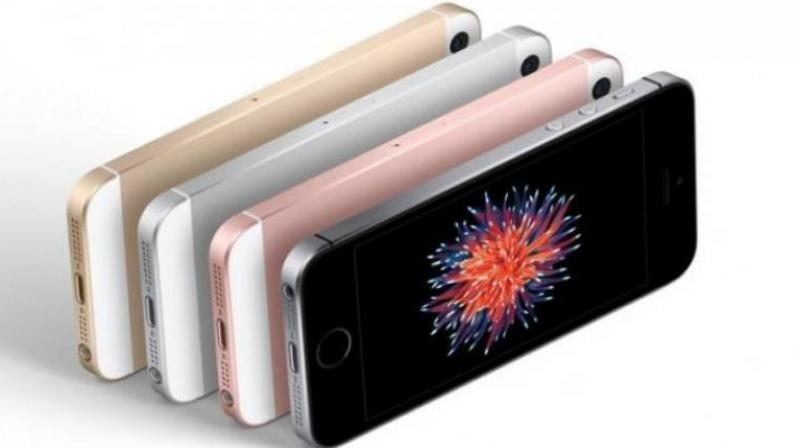 The compact iPhone SE, first launched in 2016, comes in two storage options, 32GB and 128GB.