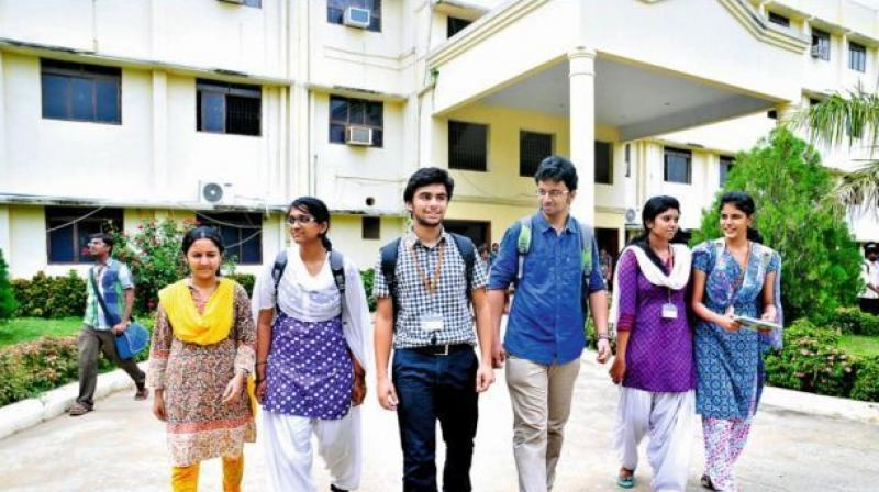 Colleges submit a letter to AICTE, which asks for a NoC from JNTU.  (Representational image)