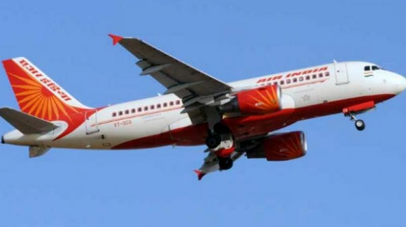 The Air India plane was delayed by 2 hours 37 minutes because of the incident. (Representational Image)