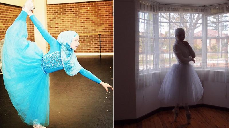 Like many young girls Stephanie Kulow dreams of becoming a ballerina. She has been dancing since the age of two. (Photo: Instagram/ stephaniekurlow)