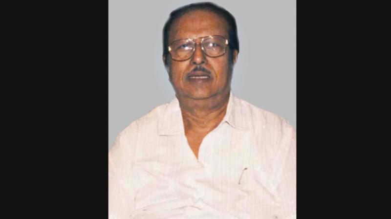 Veteran filmmaker A.C. Tirulokchandar