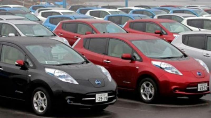Vehicle sales across categories registered 30.71 per cent growth to 21,17,746 units, from 16,20,179 units in January 2017.