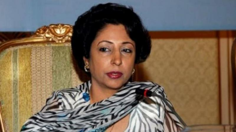 Pakistan's Permanent Representative to the UN Maleeha Lodhi. (Photo: AFP)