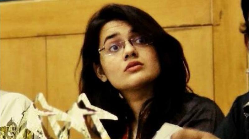 Tina Dabi, the topper of civil services examination. (Photo: Facebook)