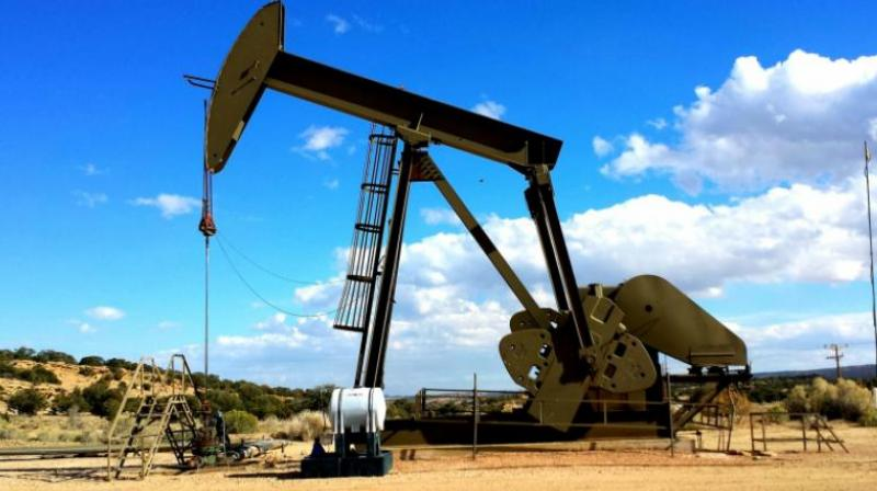 At Multi Commodity Exchange, crude oil for delivery in March month contract was trading higher by Rs 36, or 1.63 per cent, to Rs 2,239 per barrel.