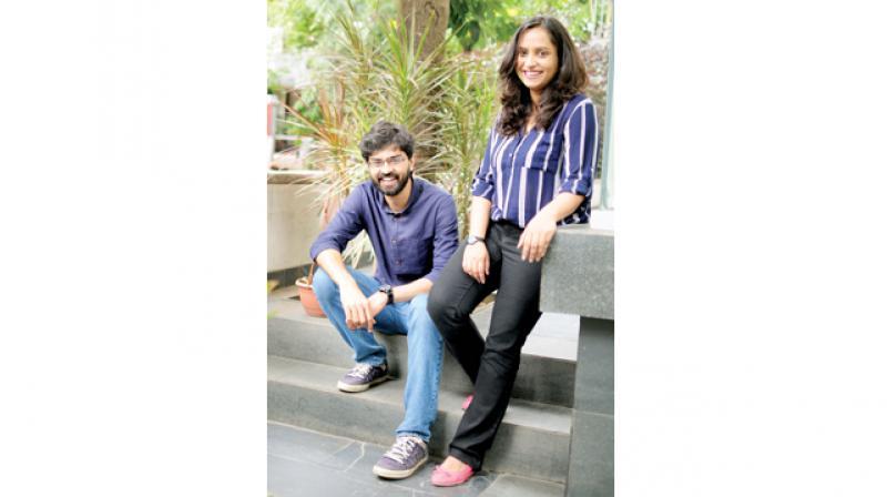 Richa Singh and Prashant Pareek