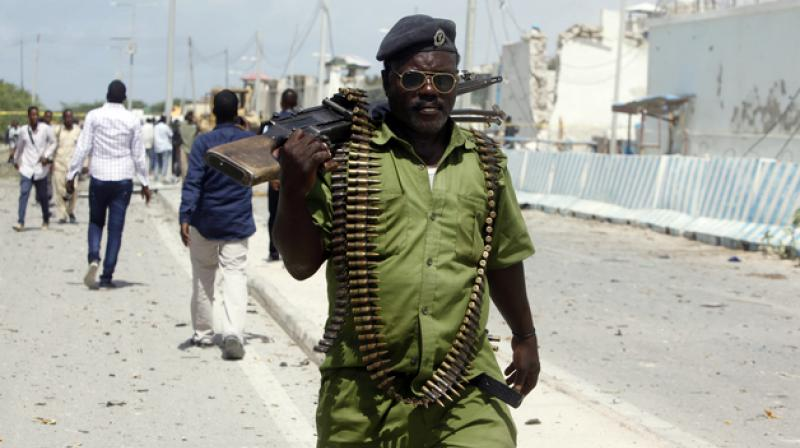 Somalia bombings kill 9 at local government headquarters, market