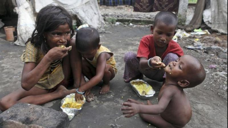 India is home to over 30 percent of almost 385 million children living in extreme poverty, according to a report. (Photo: PTI/File)