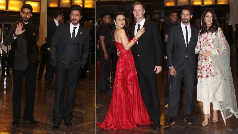 Whos Who Of Bollywood Attend Preity Zintas Grand Reception