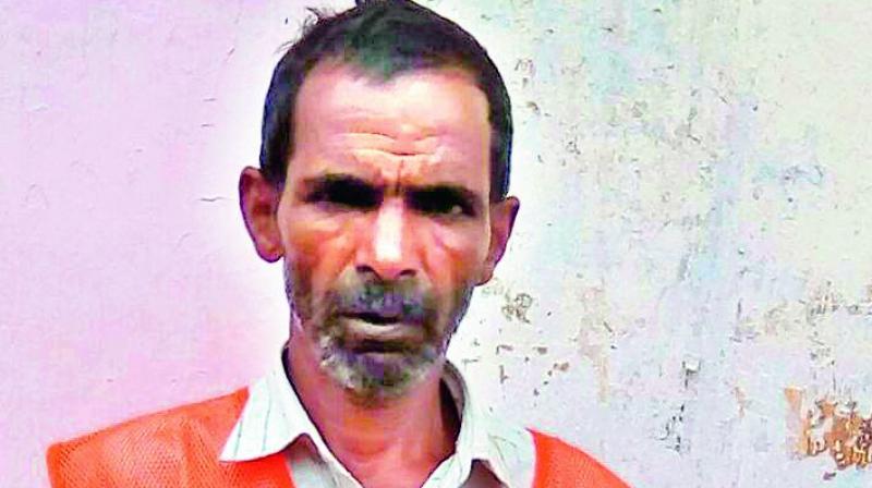 T Venkaiah, Rajendranagar GHMC sanitation worker