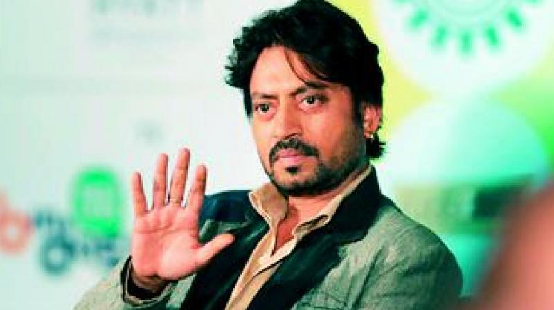 Irrfan Khan was seen in Bollywood film 'Blackmail' earlier this year.