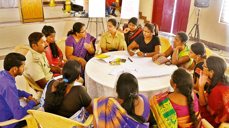 Karnataka State Police and Amnesty International India hosted 'Ready to Report' forum on the occasion of Women's Day in Bengaluru on Tuesday