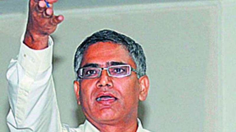 R.K Misra said that those protesting against BBAG should fight for both MPC and BBAG.